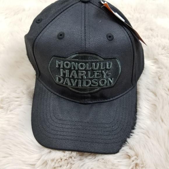 8e5977b0039 NEW Honolulu Harley Davidson Hat